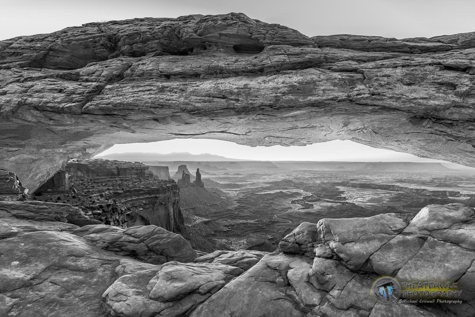 First Light at Mesa Arch