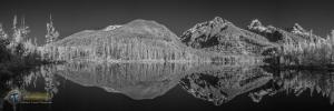 Taggart Lake IR Pano