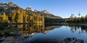 Taggart Lake Pano