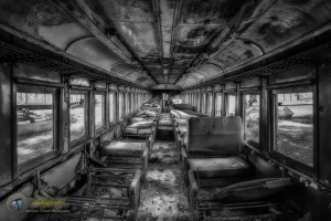 The Last Seat in Car 564 B&W