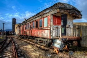 Old Rail Car II