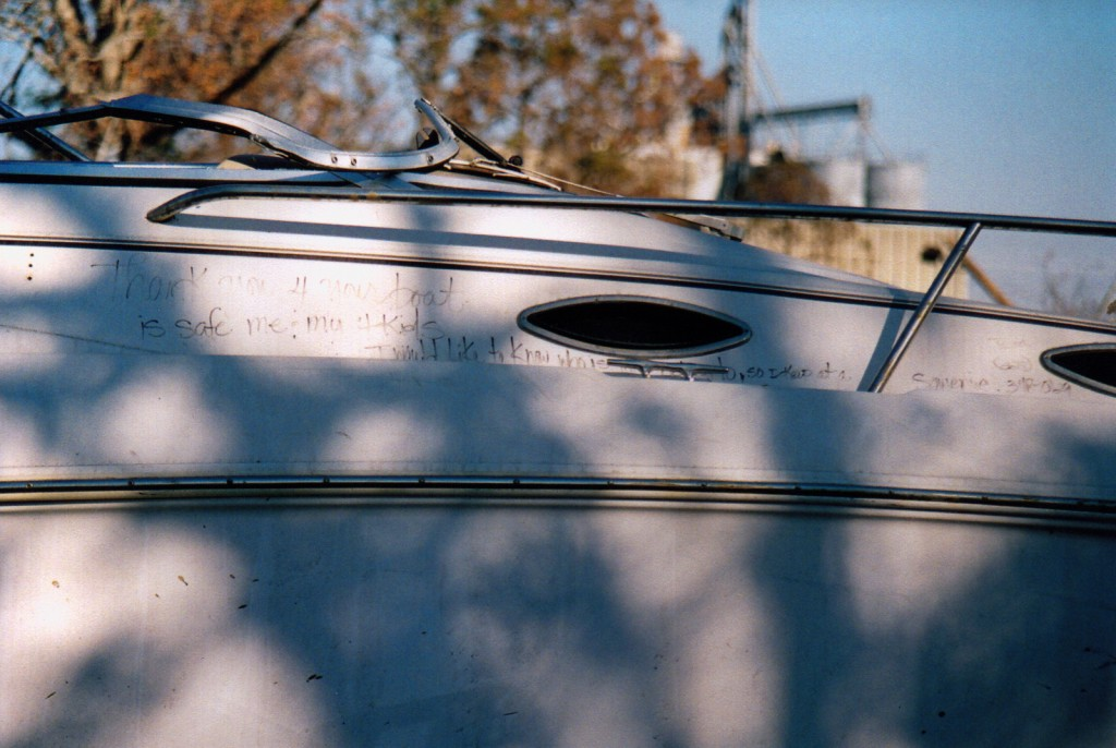 Hurricane Katrina, the boat that saved a family