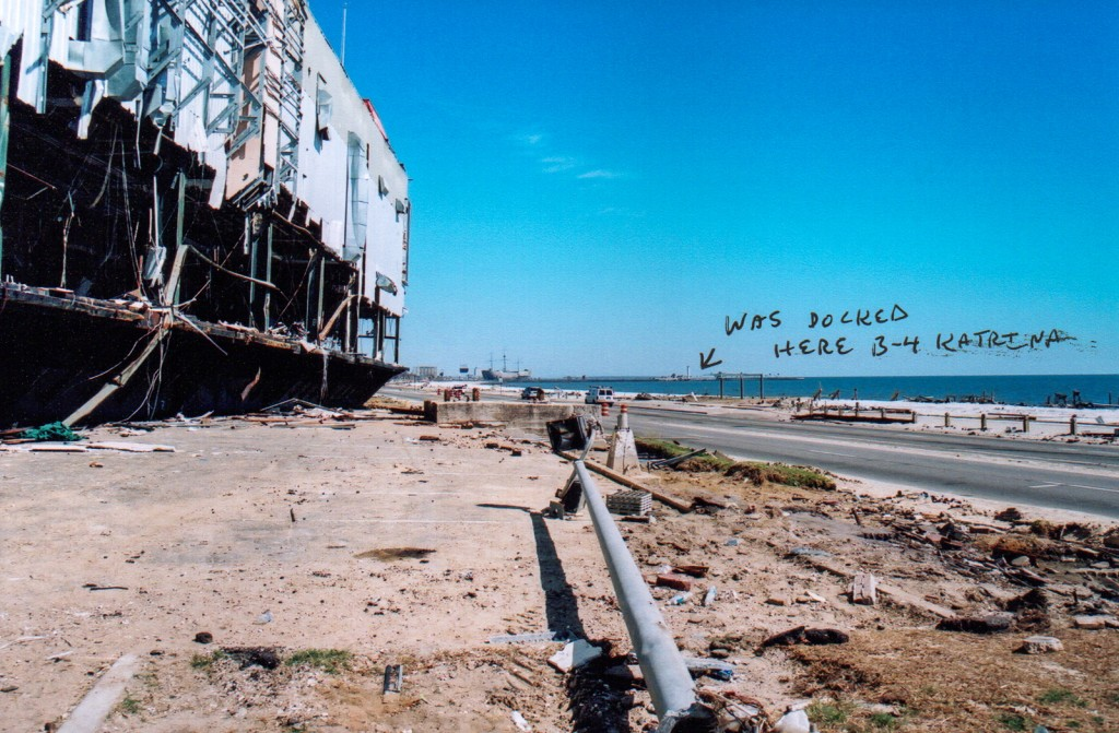 President Casino Biloxi MS after Katrina