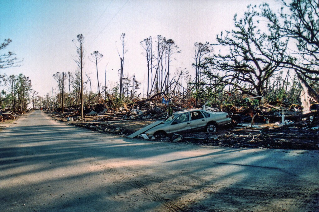 Waveland MS after Katrina