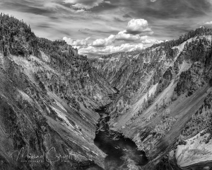 Grand Canyon of  the Yellowstone IR