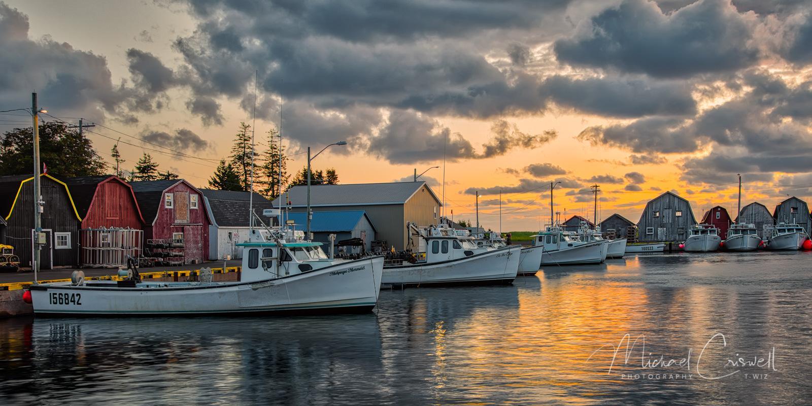 Malpeque Harbor-Morning