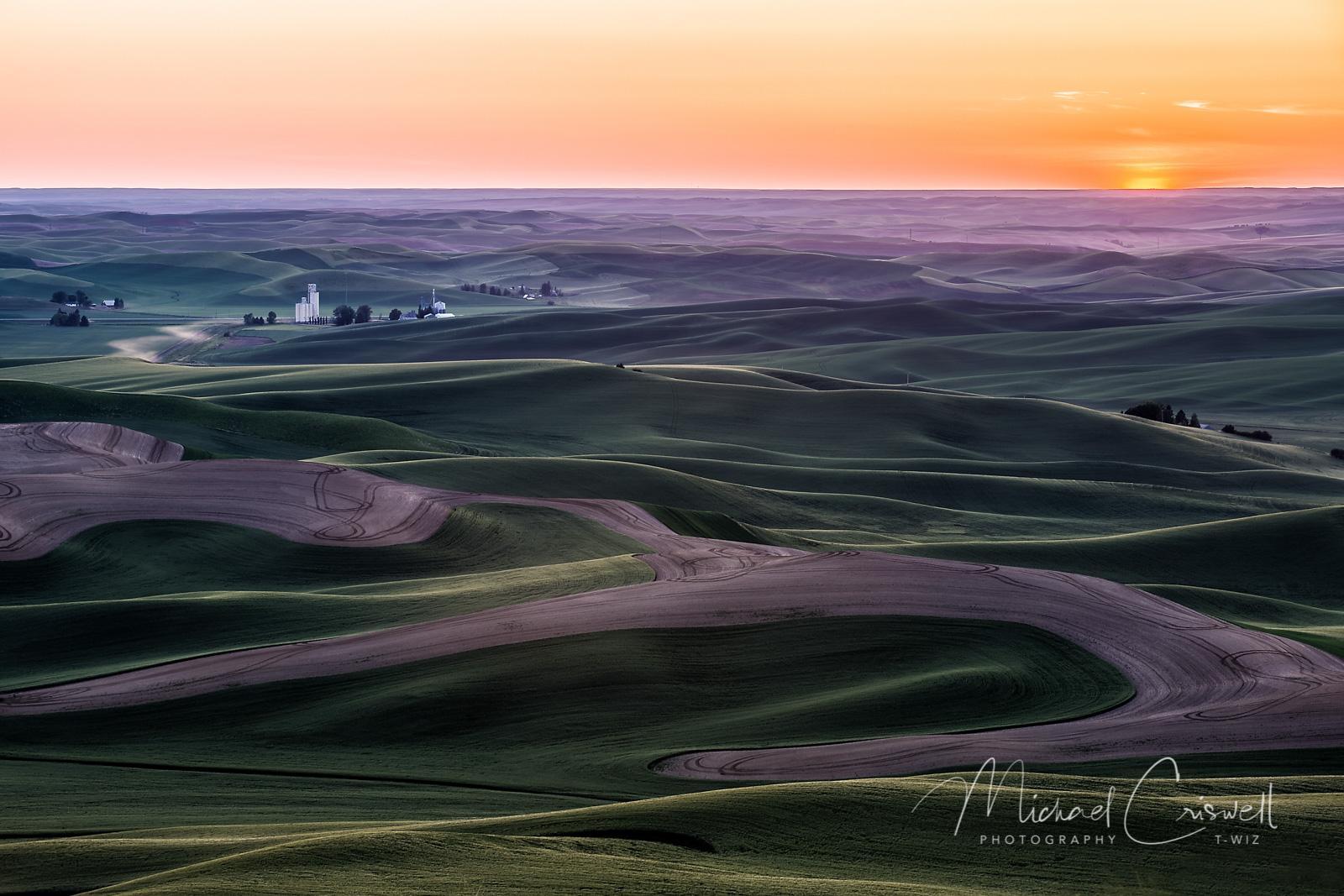Steptoe Butte Sunset