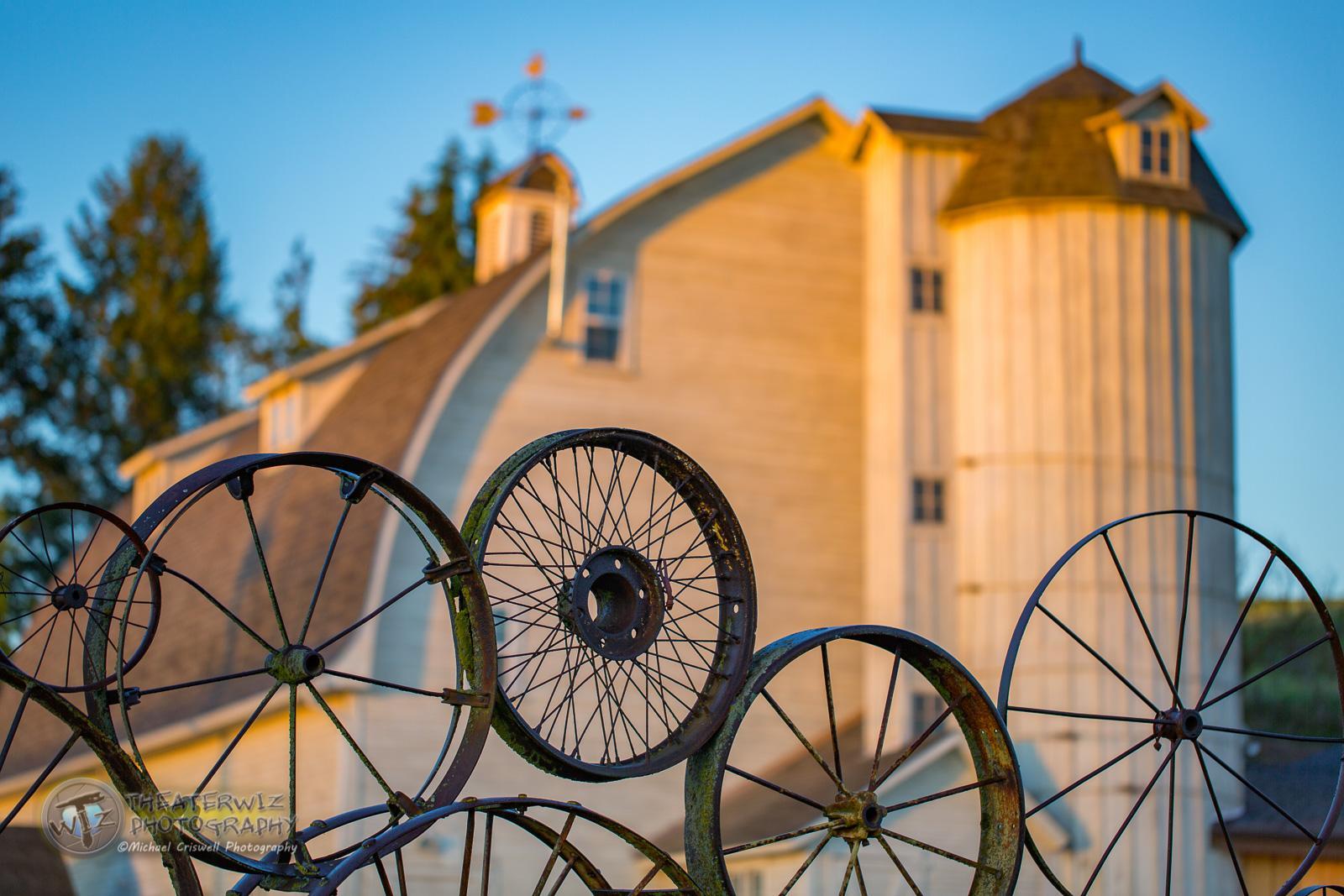 Sunrise at The Wheel Barn