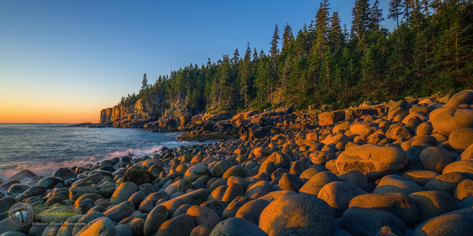 Otter Cliffs Glow