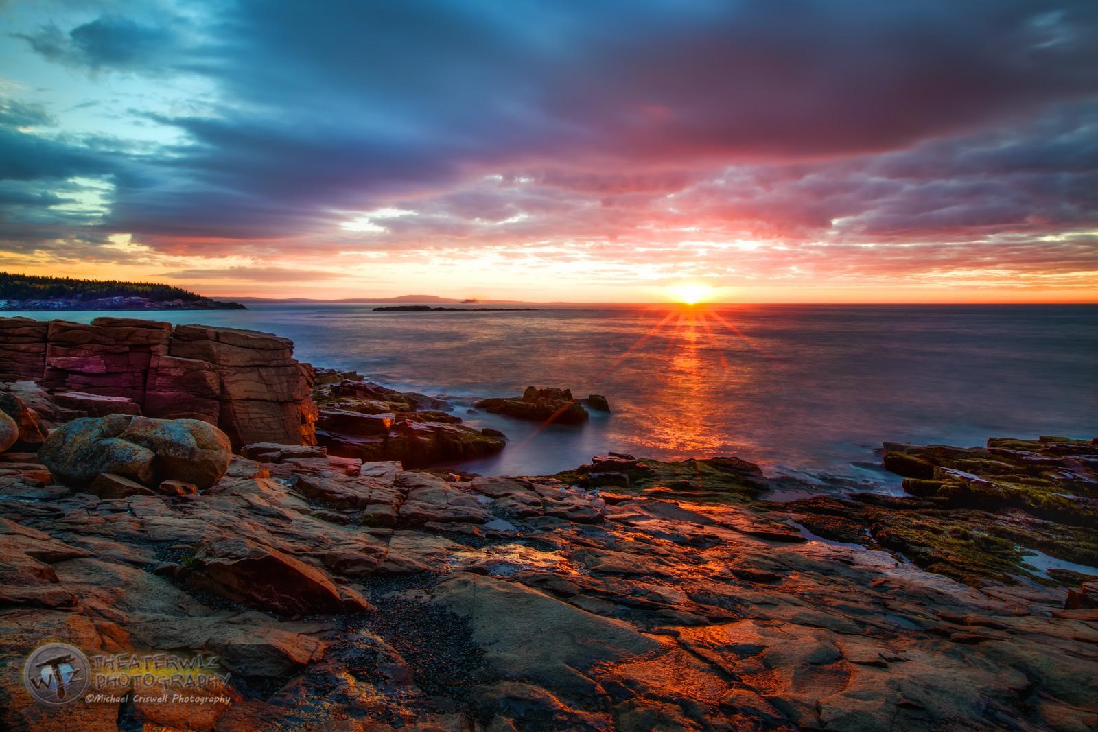 Thunder Hole Sunrise