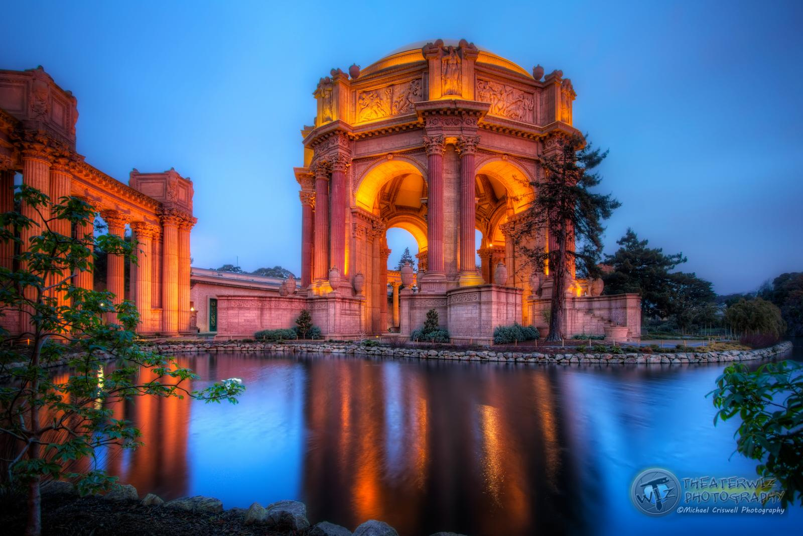 Blue Hour at The Palace III