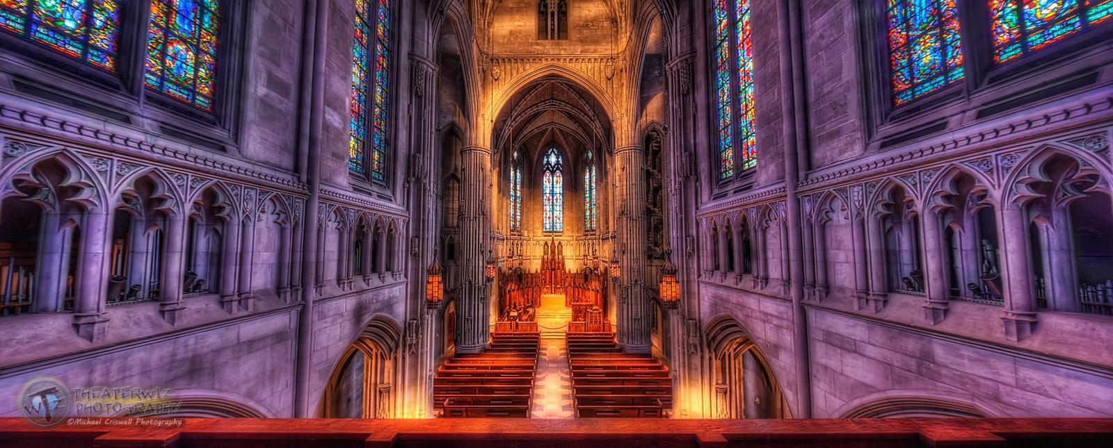 Shiftin in the Chapel