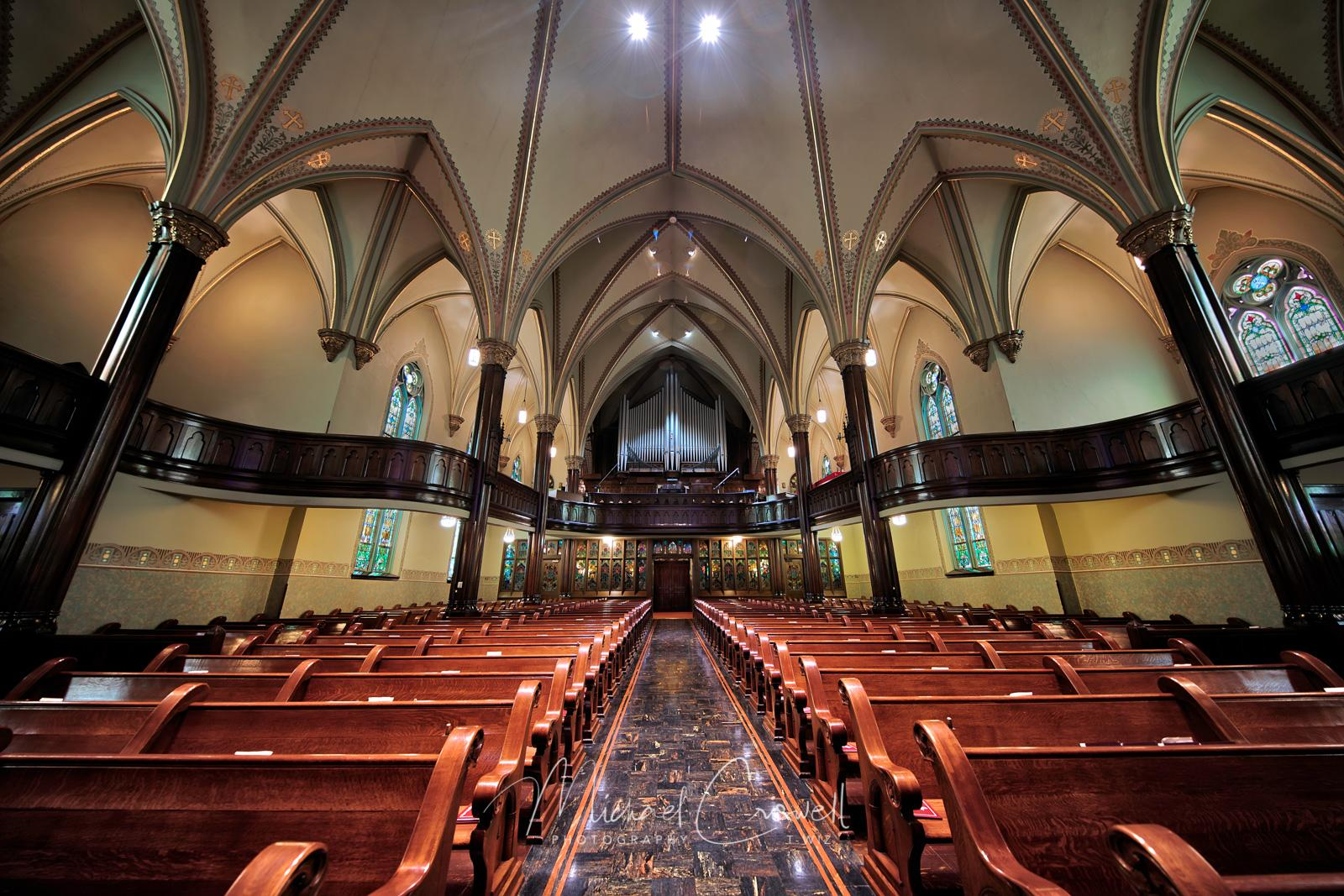 St Paul's Evangelical and Big Bertha