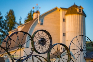 Sunrise at The Wheel Barn