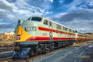 Lackawanna Railroad 663 and 664
