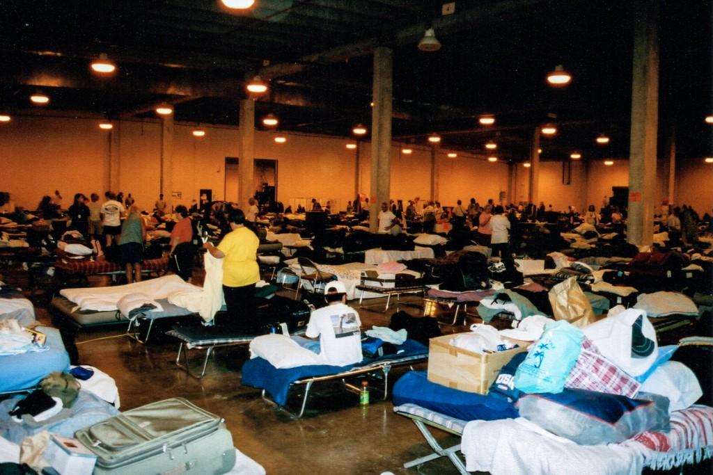 Katrina Gulfport Seabees Base Camp