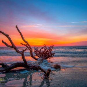 Dawn on Hunting Island