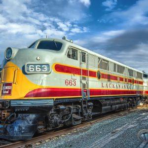 Lackawanna Railroad 663